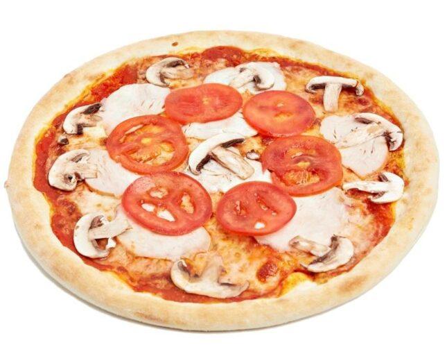 Піца з копченою куркою